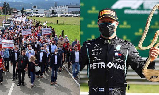 Kurz nach dem Formel-1-GP in Spielberg, der Normalität signalisieren sollte, traf die Krise die Belegschaft in Spielberg hart