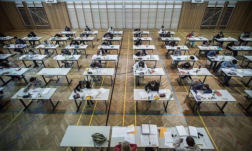 Rund 2900 Schüler sind in Kärnten zur Zentralmatura angetreten