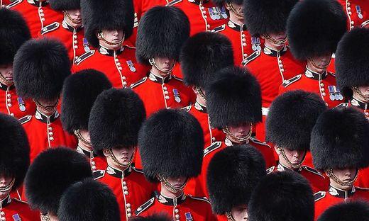 Die Scots Guards der Queen