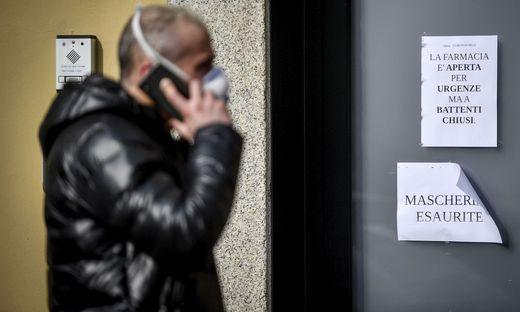 Das Coronavirus breitet sich in Italien aus - bereits drei Todesfälle