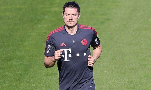 03.09.2021, FC Bayern Training, Saebenerstrasse Muenchen, Fussball, im Bild: Marcel Sabitzer (FCB) *** 03 09 2021, FC B