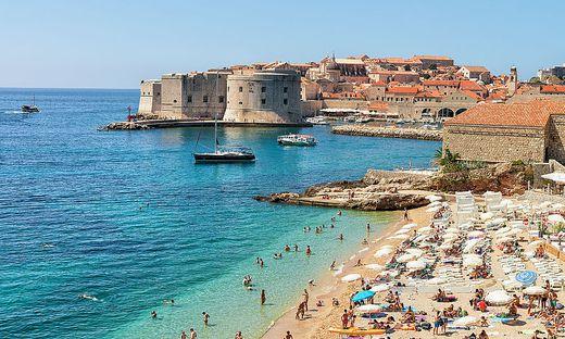 Der Blick auf Dubrovnik