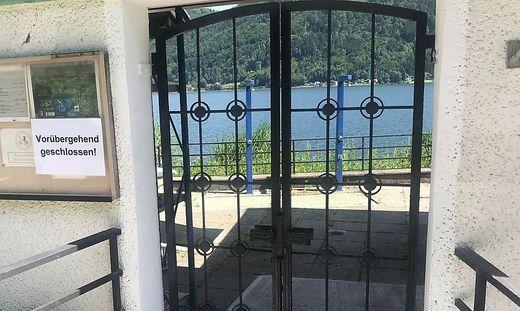 Das Gerlitzenbad in Annenheim bleibt bis auf Weiteres geschlossen