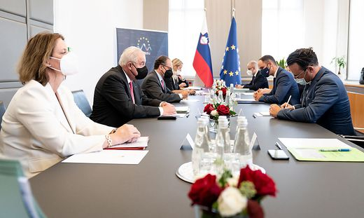 Treffen Steiermark Slowenien wegen Atom  Kernkraftwerk Krško  AKW