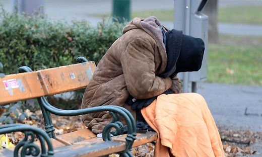 Sujetbild: Für obdachlose Menschen kann die Kälte lebensbedrohlich sein.