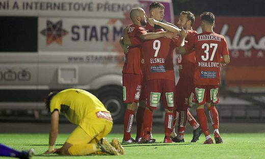 Der GAK jubelte über ein 2:0 gegen den Kapfenberger SV