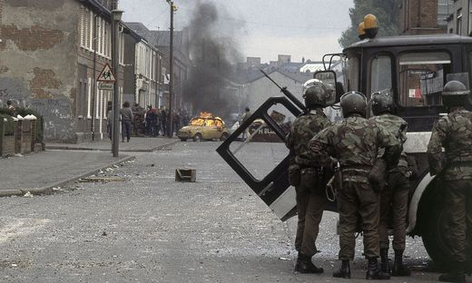 Wieder Unruhen in Belfast