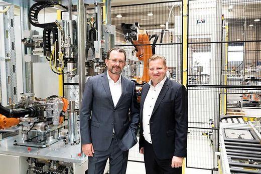 Das neue Management Board der PIA Automation Austria: Nikolaus Szlavik und Norbert Kahr