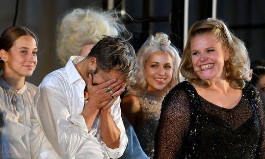 SALZBURGER FESTSPIELE 2018: SCHLUSSAPPLAUS 'JEDERMANN' / HOCHMAIR, REINSPERGER