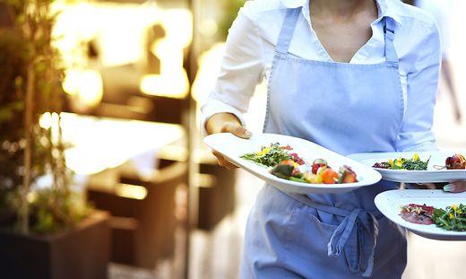 Die Gastronomie war zumindest im zweiten Quartal noch weit vom Niveau vor der Krise entfernt