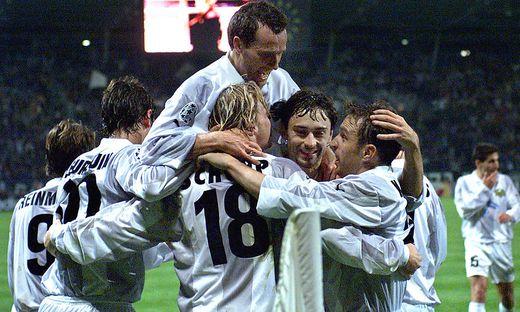 Sturm in der erfolgreichen Champions-League-Zeit