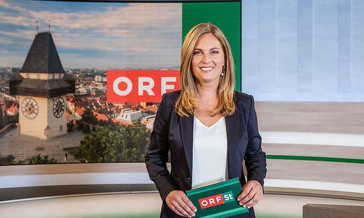 Am Samstag um 19 Uhr ist Kathrin Ficzko zum ersten Mal in 'Steiermark heute' zu sehen