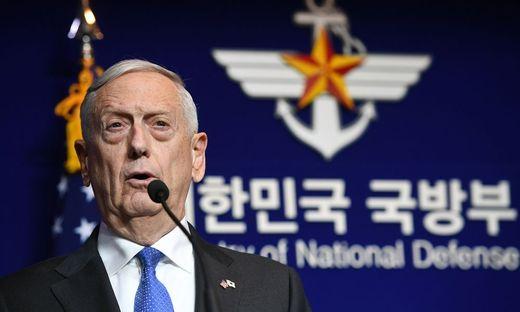 US-Verteidigungsminister Mattis besucht Südkorea
