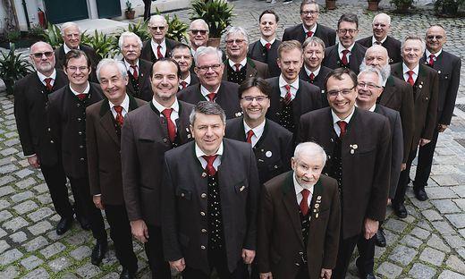 Nur wer in Kärnten geboren oder aufgewachsen ist, kann Mitglied des Männerchores der Kärntner in Wien werden