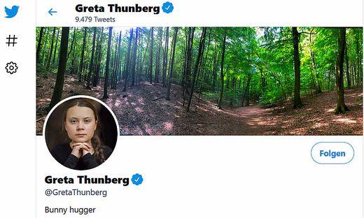 "Greta Thunberg, nun offiziell ""Bunny Hugger"""