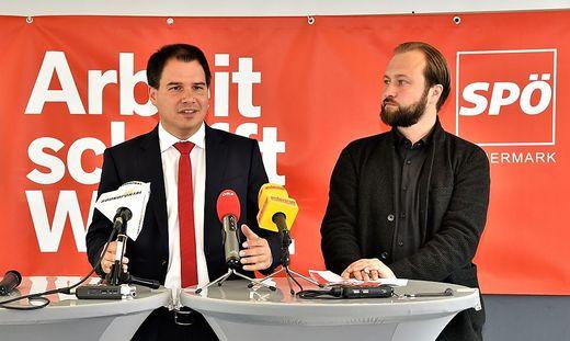 Schickhofer und Lercher (r.)