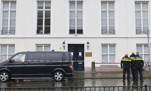 Schüsse auf saudische Botschaft in Den Haag