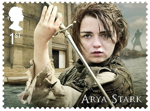 Briefmarken/ Game of Thrones