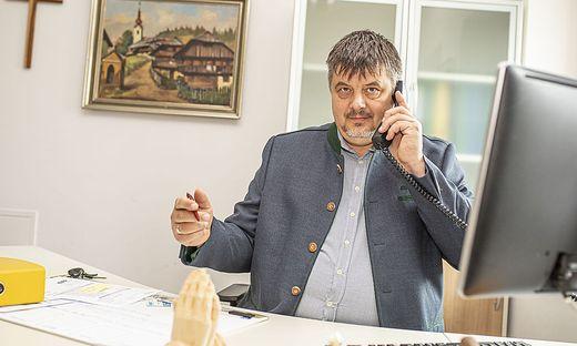 Bürgermeister Wilfried Mödritscher