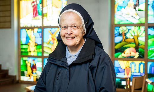 Schwester Maria-Andreas Weißbacher aus dem Kloster Wernberg