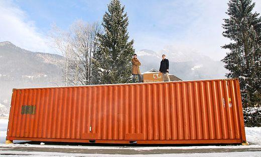 Klagenfurt wohnen im schiffscontainer for Kleiner wohncontainer