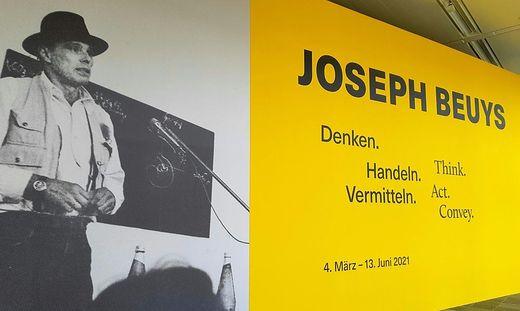 Joseph Beuys im Belvedere 21