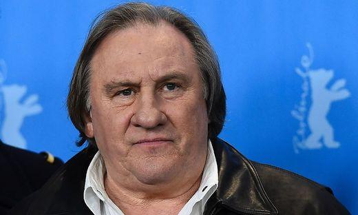 Schauspieler Gerard Depardieu