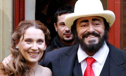 Nicoletta Mantovani, Luciano Pavarotti