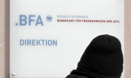 THEMENBILD: BFA - BUNDESAMT FUeR FREMDENWESEN