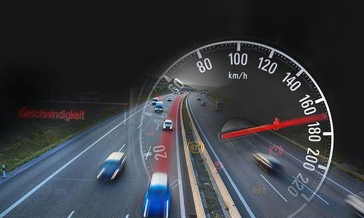 Erst mit 146 km/h durch eine Baustelle, dann mit 202 km/h über die A2