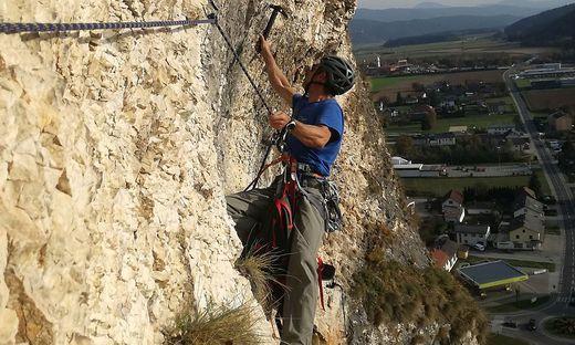 Klettersteig Griffen : Griffen klettersteig in eröffnet fix am mai