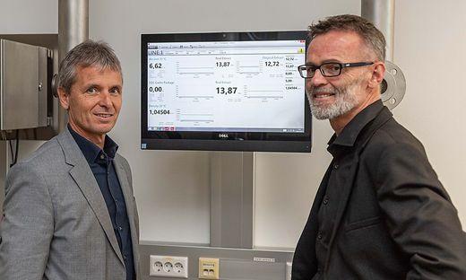 Friedrich Santner, Konzernchef der Anton Paar Group, Johannes Bernsteiner, Geschäftsführer der Anton Paar ShapeTec GmbH