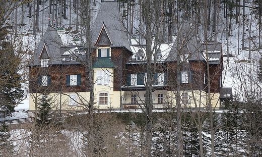 Die Präsidentenvilla in Mürzsteg