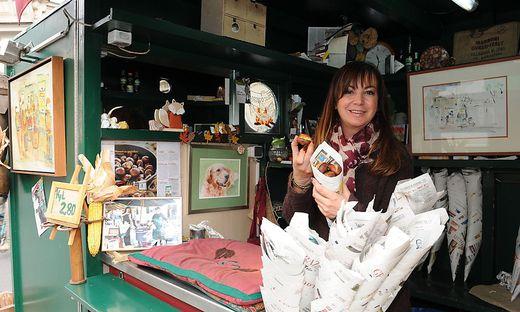 Maronessa Cvetka Stockinger: Ab Mitte Oktober sind die besten Kastanien, die Maroni verfügbar