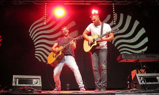 Otto Jaus und Paul Pizzera rockten die Fürstenfelder Stadthalle