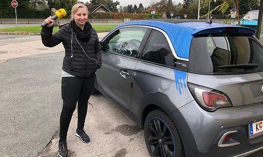 Tagelang hat Julia vergeblich das Auto ihres Freundes gesucht. Mit Hilfe der Antenne Kärnten gelang es ihr schließlich, den Pkw zu finden