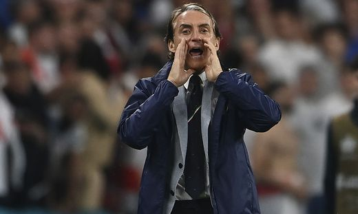 Roberto Mancini erweckte die Squadra Azzurra zum Leben