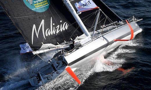 Die Renn-Yacht Maliza II