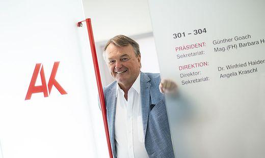 Arbeiterkammer-Direktor Winfried Haider wechselt Ende September in den Ruhestand