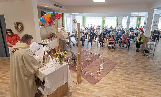 Ein Gamlitzer Pflegeheim veranstaltete eine gemeinsame Trauerfeier, um von verstorbenen Heimbewohnern Abschied zu nehmen