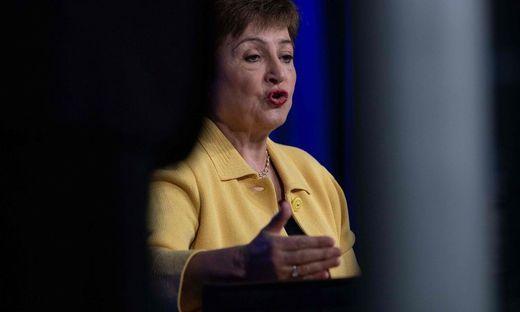 IWF-Direktorin Kristalina Georgieva