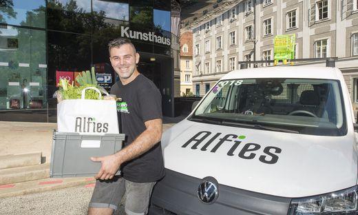 Alfies-Zusteller in Graz