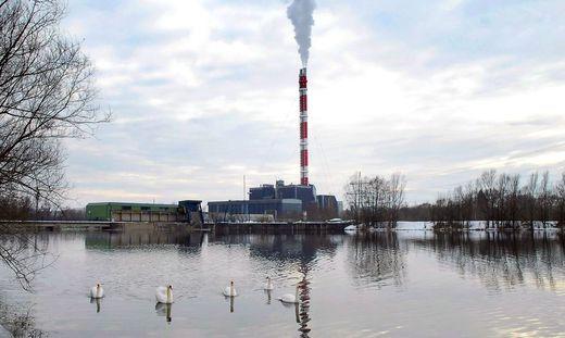 Das Kraftwerk in Mellach