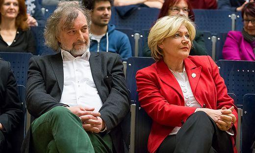 Wahldiskussion Universitaet Klagenfurt Hoersaal A Wahl Gemeinderatswahl Politiker Pruefstand