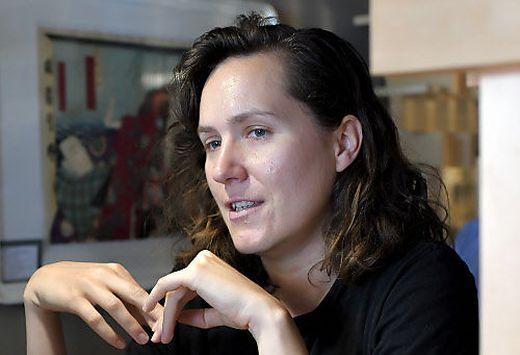 Die serbische Autorin Barbi Markovic