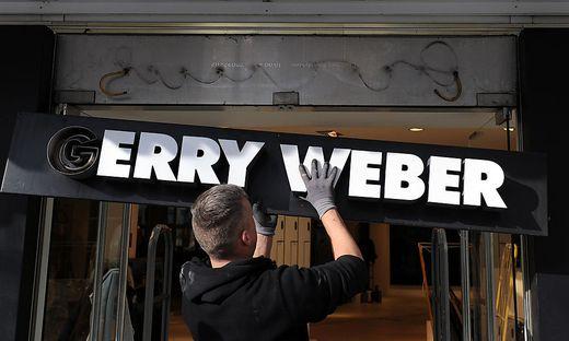 Die Zahl der Filialen soll sinken, Gerry Weber will sich aber sanieren