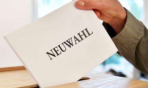 ++ THEMENBILD ++ NEUWAHL / WAHLEN
