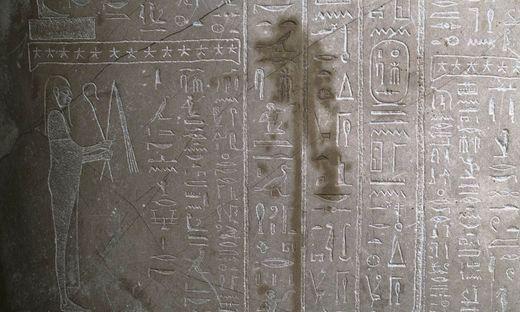 In Berlin wurden Kunstobjekte - auch aus dem Alten Ägypten - beschmiert
