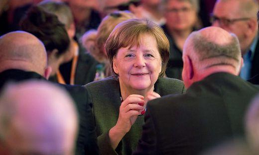 GERMANY-POLITICS-PARTIES-CDU-MERKEL-ASH-WEDNESDAY