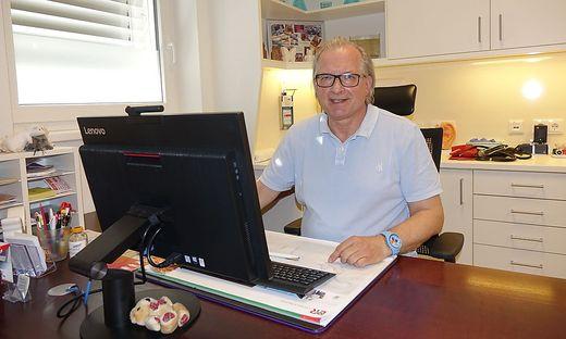 Günther Hirschberger fungiert als Sprecher der regionalen Ärzte